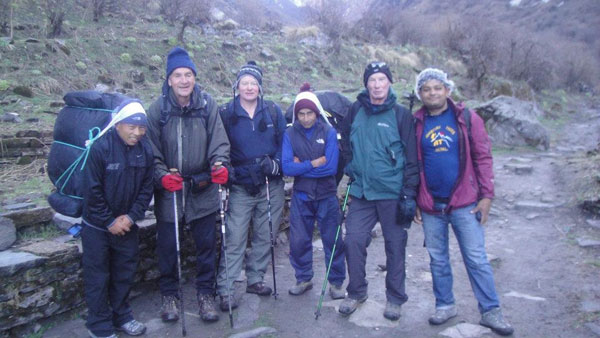 Annapurna Base camp Trekking 30 March 2012.