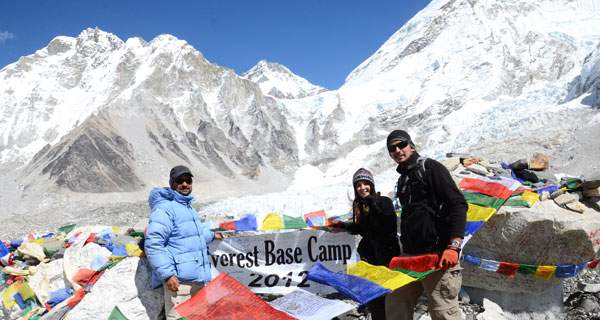 Everest Base Camp Trekking 07 Oct 2012.