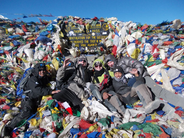Annapurna Circuit & Base Camp Trekking 30 Dec2012